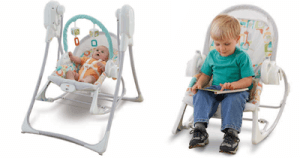 Latest & top Fisher-Price Smart Stages Power Plus 3-in-1 Swing N Rocker