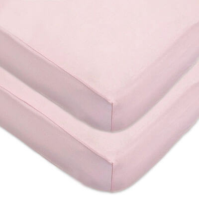 American Baby Company Jersey Knit Fitted Crib Sheet