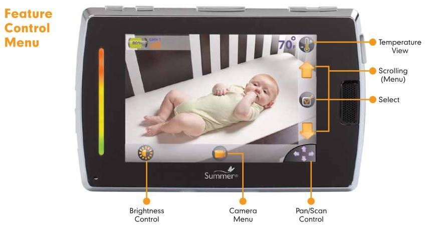 Baby Touch Boost Digital Color Video Monitor features 2