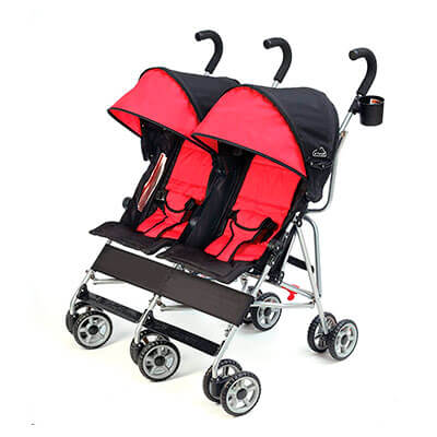 Kolcraft Double Umbrella Stroller