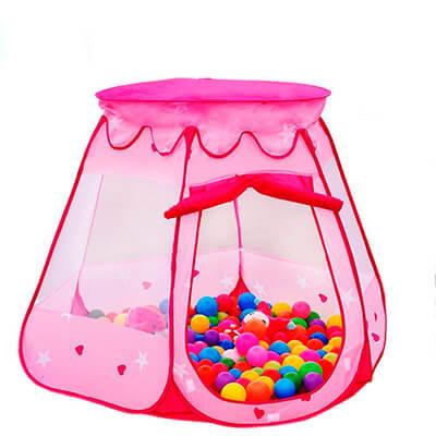 Lepapillon Pink Princess Tent