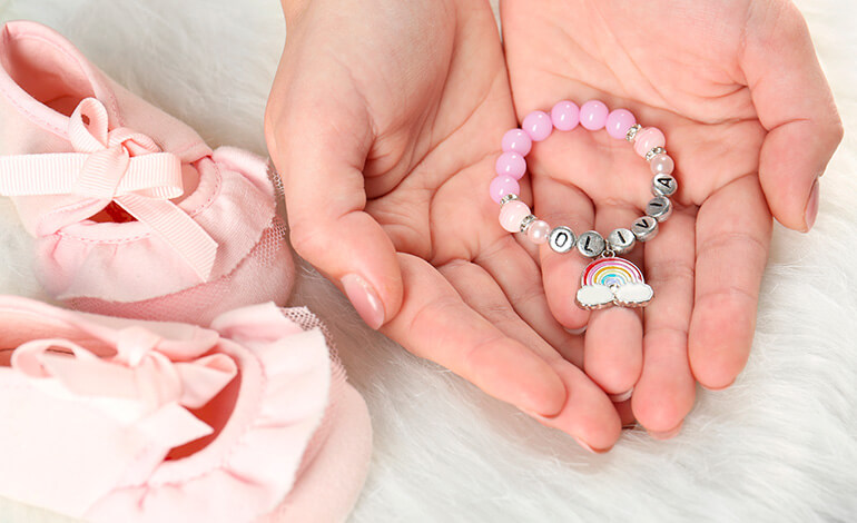 Personalized Birthstone Bracelet 1