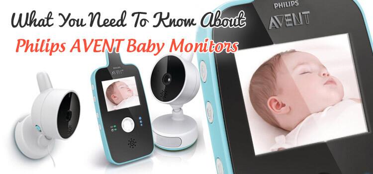 Philips AVENT Baby Monitors1