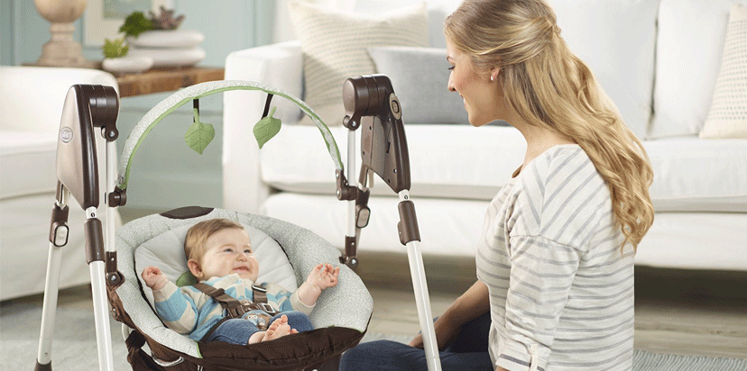 best Graco Swing By Me Portable 2-in-1 Swing