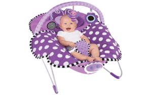 high quality Sassy Cuddle Bug Bouncer