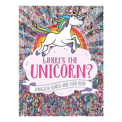 Wheres the Unicorn Search and Find Book