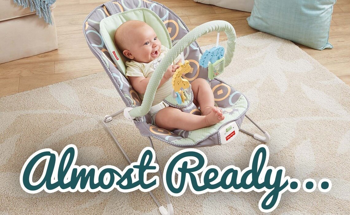 Baby bouncer at Eva Baby Gear