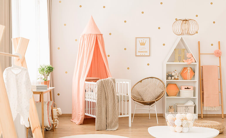 Baby girl nursery essentials