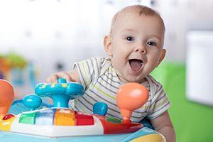 Baby playroom and activity