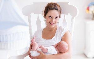 Eva Wilson with Baby