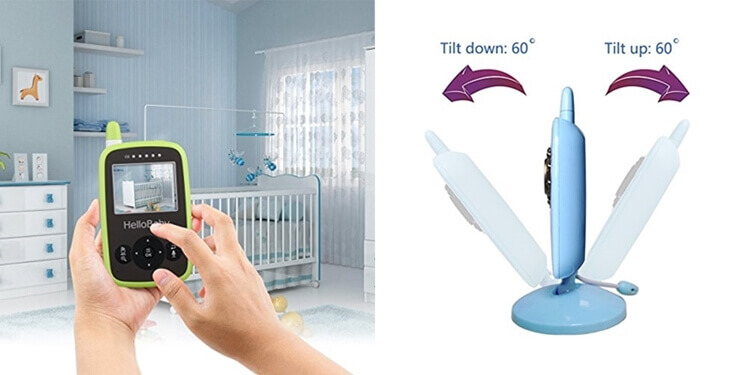 hello baby monitor features
