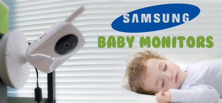 Samsung baby monitors banner
