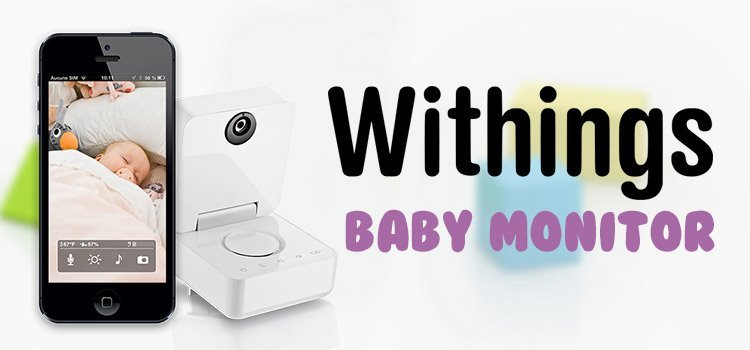 Wthings baby monitor banner